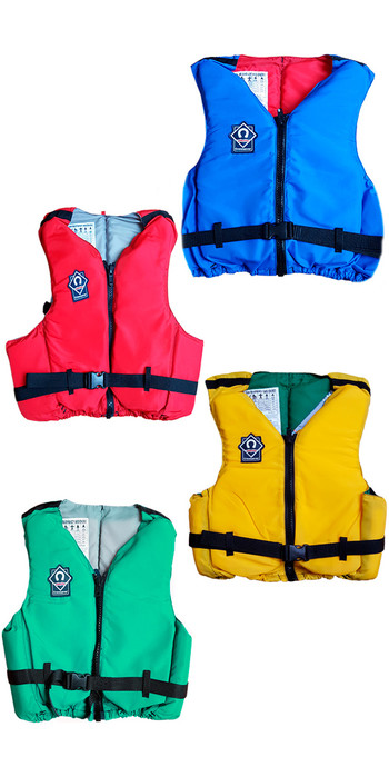 Crewsaver Academy 50N Front Zip Buoyancy Aid - Colour coded per size 2560