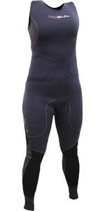 2020 Gul Womens Code Zero Elite 3mm BS Long Jane Impact Wetsuit & Pads Black CZ4216-B5