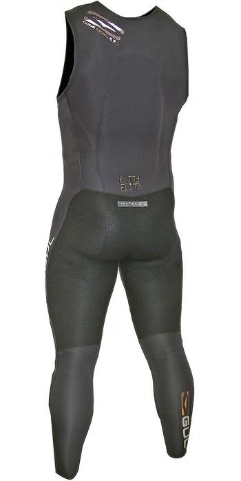 2019 Gul Code Zero Elite 3mm BS Long John Impact Wetsuit & Pads Black CZ4217-B5