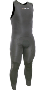 2020 Gul Code Zero Elite 3mm BS Long John Impact Wetsuit & Pads Black CZ4217-B5