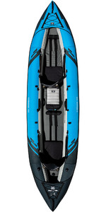 2020 Aquaglide Chinook 120 3 Man Kayak Blue - Kayak only