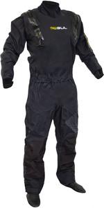 2019 Gul Junior Code Zero Stretch U-Zip Drysuit Black GM0368-B5