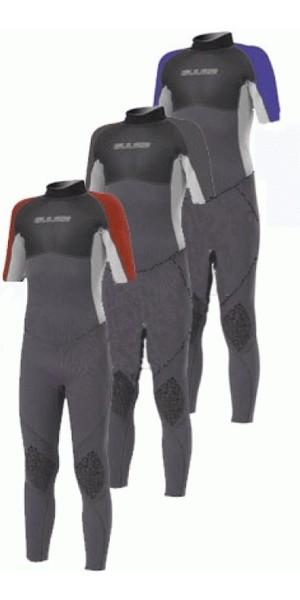 Gul Contour Junior 3/2mm Steamer SHORT SLEEVE Wetsuit in Black / Blue / Grey