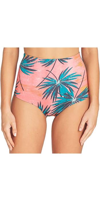 2019 Billabong Womens 1mm Hightide Retro Neoprene Shorts Coral Bay N41G08