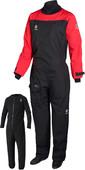 2020 Crewsaver Atacama Sport Drysuit INCLUDING UNDERSUIT RED / BLACK 6555