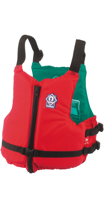 2021 Crewsaver Centre 70N Zip Buoyancy Aid RED 2359 Colour Coded inside per size