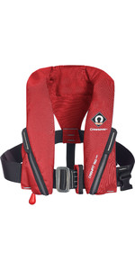 2020 Crewsaver Crewfit 150N Junior Lifejacket Auto With Harness 9705RA - Red