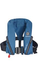 2021 Crewsaver Crewfit 150N Junior Lifejacket Auto With Harness 9705BA - Blue