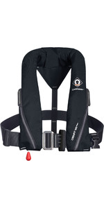 2021 Crewsaver Crewfit 165N Sport Automatic Harness Lifejacket 9715BLA - Black