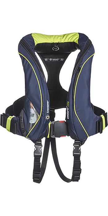 2021 Crewsaver ErgoFit+ 290N Hammar Lifejacket With Harness, Light & Hood Navy 9165NBGHP