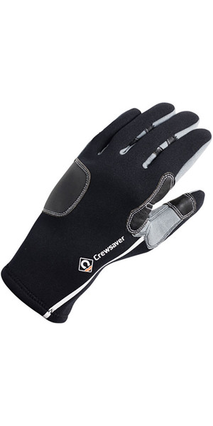 2019 Crewsaver 3mm Tri-Season Gloves Black 6952