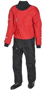 2021 Crewsaver Junior Atacama Drysuit 6557 - Black / Red