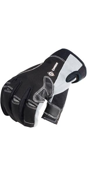 2018 Crewsaver Junior Long Three Finger Gloves Black 6951