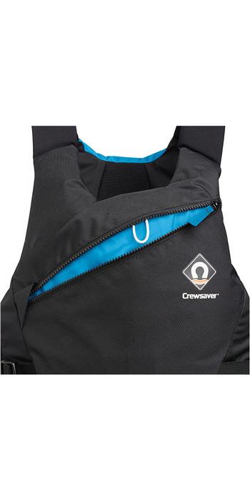2021 Crewsaver Junior Pro 50N Side Zip Buoyancy Aid Black / Blue 2620J