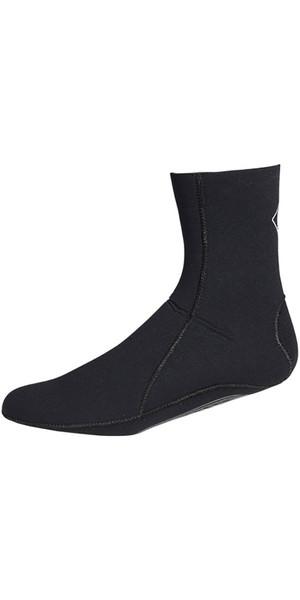 2019 Crewsaver Junior Slate 3mm neoprene wetsuit Sock - BLACK 6946