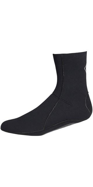 2018 Crewsaver Junior Slate 3mm Neoprene Wetsuit Sock - Black 6946 Picture