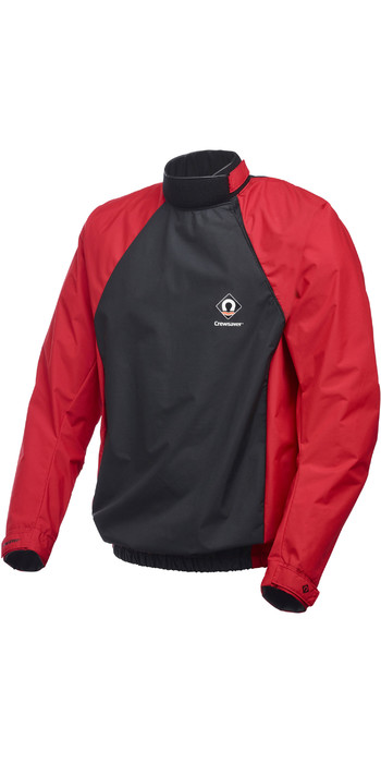 2021 Crewsaver Junior Spray Cag Black /Red 6975