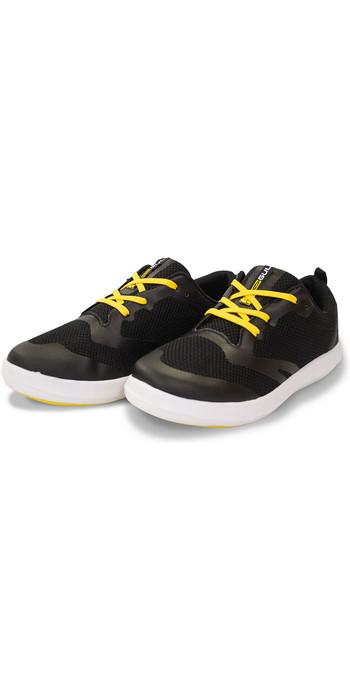 2020 Gul Aqua Grip SUP Shoe Black / Yellow DS1004-B3