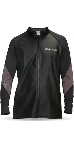 Dakine Furnace Long Sleeve Front Zip Paddle Jacket in Black 10000396