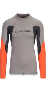 2019 Dakine Mens Heavy Duty Snug Fit Long Sleeve Rash Vest Carbon 10002280