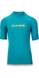 2019 Dakine Mens Heavy Duty Snug Fit Short Sleeve Rash Vest Seaford 10002281