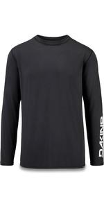 2019 Dakine Mens Heavy Duty Loose Fit Long Sleeve Surf Shirt Black 10002278
