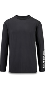 2019 Dakine Mens Heavy Duty Loose Fit Long Sleeve Surf Shirt Black 10002278