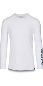 2019 Dakine Mens Heavy Duty Loose Fit Long Sleeve Surf Shirt White 10002278