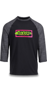 2019 Dakine Mens Roots Raglan Loose Fit 3/4 Sleeve Surf Shirt Cannery 10002311
