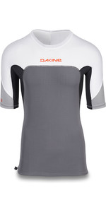 2019 Dakine Mens Storm Snug Fit Short Sleeve Rash Vest Carbon 10002316