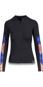 2019 Dakine Womens Persuasive Long Sleeve Snug Fit Rash Vest Kassia 10002335