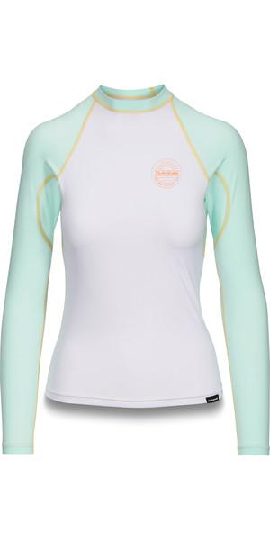 2019 Dakine Womens Flow Snug Fit Long Sleeve Rash Vest Pastel 10002331