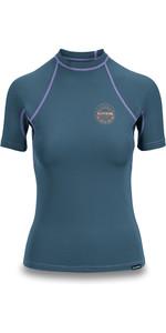 2019 Dakine Womens Flow Snug Fit Short Sleeve Rash Vest Waimea 10002332