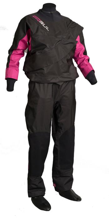 GUL Womens Dartmouth Eclip Zip Drysuit BLACK / PINK GM0383-B3