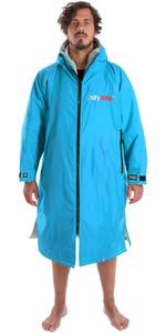 2020 Dryrobe Advance Long Sleeve Premium Outdoor Change Robe / Poncho DR104 SKY / GREY