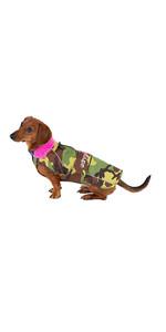Dryrobe Dog Robe DRDR1 - Camo Pink