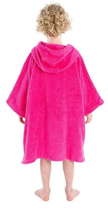 2021 Dryrobe Junior Organic Cotton Towel Robe - Pink