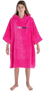 2020 Dryrobe Junior Organic Cotton Towel Robe - Pink
