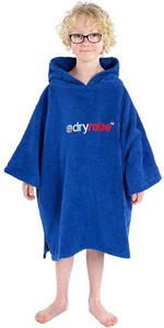 2020 Dryrobe Junior Organic Cotton Towel Robe - Royal Blue