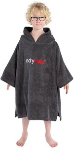 2020 Dryrobe Junior Organic Cotton Towel Robe - Slate Grey