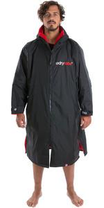2019 Dryrobe Advance Long Sleeve Premium Outdoor Change Robe DR104 Black / Red