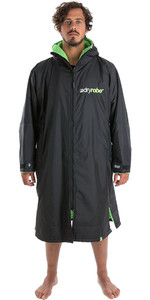 2019 Dryrobe Advance Long Sleeve Premium Outdoor Change Robe DR104 Black / Green