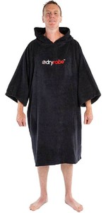 2021 Dryrobe Organic Cotton Towel Robe - Black