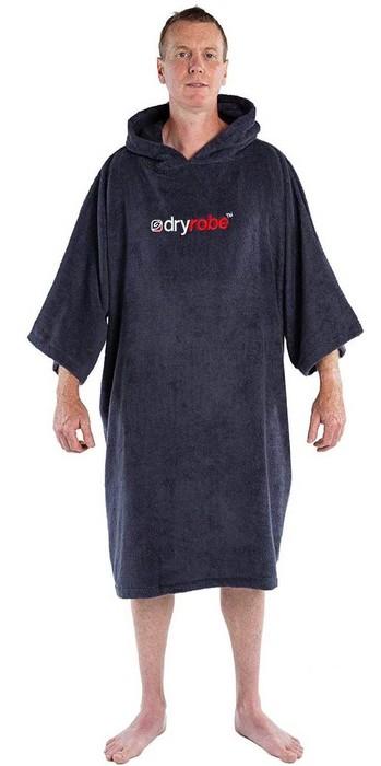 2021 Dryrobe Organic Cotton Towel Robe - Navy Blue