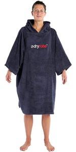 2020 Dryrobe Organic Cotton Towel Robe - Navy Blue