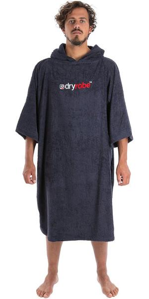 2020 Dryrobe Short Sleeve Towel Change Robe / Poncho Navy