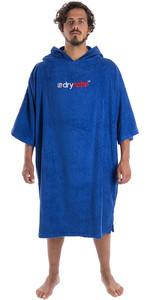 2020 Dryrobe Short Sleeve Towel Change Robe / Poncho SS TD RB - Royal Blue