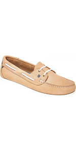 2020 Dubarry Aruba Deck Shoes Beige 3739
