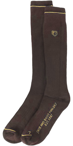 2018 Dubarry Boot Socks Long Brown 9624