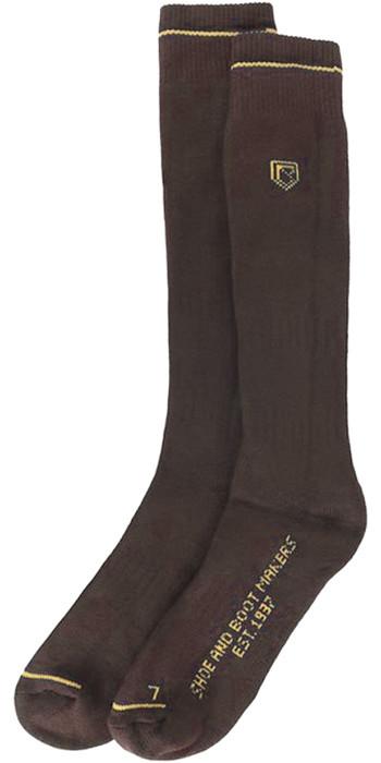 2021 Dubarry Boot Socks Long Brown 9624